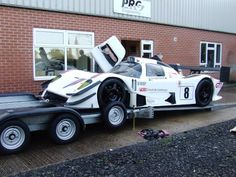 High Quality Trailers, Car Transporters and Race Truck Conversions Made in Cheshire - PRG Trailers Ltd.