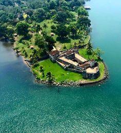 castillo de san felipe en Río dulce izabal Guatemala