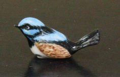 Figurine Animal Dollhouse Miniature Ceramic Statue Fairy Bird