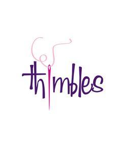 A logo designed for a local seamstress.