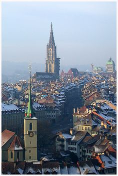 Bern in winter - Bern, Switzerland