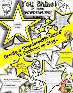 This dance resource for grade 7 & 8 is a  step-by-step walk-thru' (great for non-specialist dance teachers) of how to prepare a sophisticated routine through group work & collaboration for a Celebration Assembly.  The hook is an inspiring link. Included: Learning Goal, Success Criteria, Rubric & Possible Report Card Comment to satisfy Ont. Curr. Dance Expectations - although can be easily adapted elsewhere.  Also organizational pages for students & performance.  Fre. version coming soon…