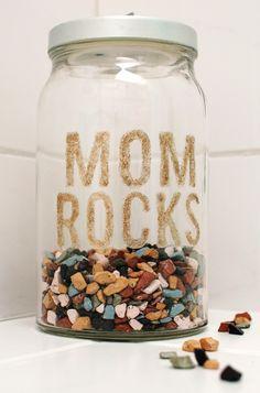 Kudo jars for moms. Teaches kids give praise, helps parents accept praise + model positive behaviors
