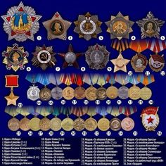 награды вов Us Military Medals, Military Awards, World History, World War Ii, Military Decorations, German Uniforms, Soviet Art, Military Insignia, Red Army