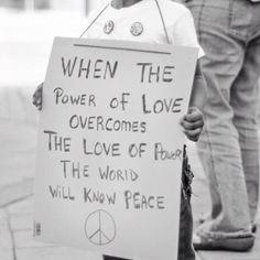 Power of Love = Peace