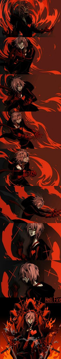 VY2 Yuuma (Vocaloid) Hell Fire