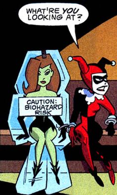 Harley Quinn Poison Ivy - Gallery