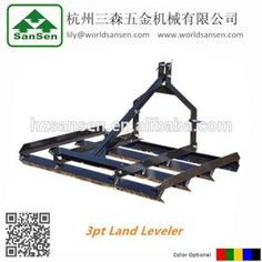 Source 3point farm land leveler for tractors attachments; tractor rear frame leveler on m.alibaba.com