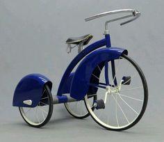 Art Deco Tricycle Made by the Murray Company Art Nouveau, Art Deco Period, Art Deco Era, Antique Toys, Vintage Toys, Vintage Art, Velo Retro, Art Et Architecture, Design Industrial