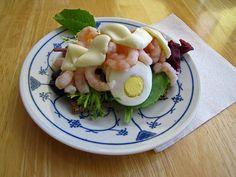 Smørrebrød Med Rejer - Danish Smørrebrød With Shrimp by My Danish Kitchen, via Flickr