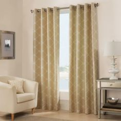 West Bay Grommet Window Curtain Panel - BedBathandBeyond.com