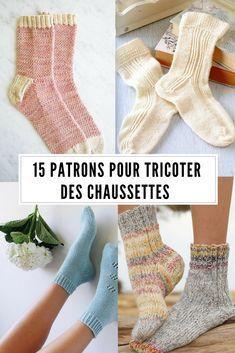 Explication Pour Tricoter Des Chaussettes : explication, tricoter, chaussettes, Patrons, Tricoter, Chaussettes, Chaussettes,, Tricot, Chausette,