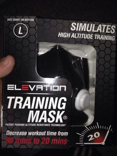 Product Review: Elevation Training Mask 2.0 * | louisjbianco