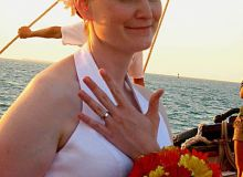 Celebrate your engagement on the Boston Harbor!