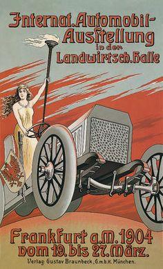 Affiche IAA 1904