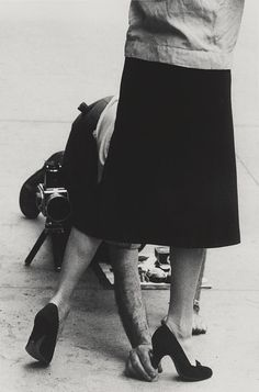 "zzzze: ""GARRY WINOGRAND Untitled, New York, USA. 'Adjustments', 1950s Gelatin silver print """