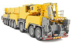 LEGO Liebherr LTM 1750-9.1 | Remote controlled model of Lieb… | Flickr