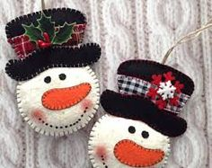 Image result for crochet snowman ornament