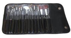 13 Piece Makeup Brush Set and Case: http://www.amazon.com/Piece-Makeup-Brush-Set-Case/dp/B001LVA0XO/?tag=httpbetteraff-20
