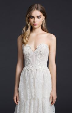 Bridal Gowns and Wedding Dresses by JLM Couture - Style 3659
