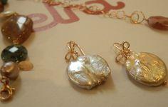 Collezione Autunno-Inverno 2016 orecchini in argento 925\000 e perle d'acqua dolce