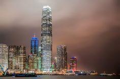 Hong Kong Skyscrapers Poster - diy cyo personalize design idea new special custom Beijing China, Hong Kong, Kong Company, Construction News, Asia, Nanny Jobs, San Francisco Skyline, New York Skyline, Around The Worlds