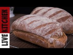Kitchen Living, Recipies, Bread, Cooking, Youtube, Food, Recipes, Kitchen, Brot
