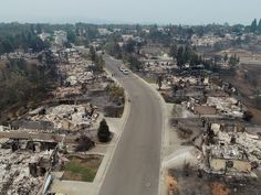Redding Wildfire Scenes from the Carr Fire