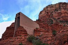 Breathtaking views of the mountains surrounding Sedona. This church is a must see if you are in Sedona.