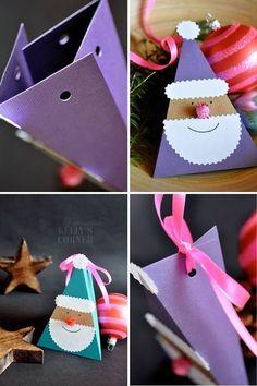 Caixa de presente e natal: http://artesanatobrasil.net/caixa-de-presente-de-natal-papai-noel/