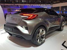 Em exclusivo para os visitantes do Salão do Automóvel 2016, a Toyota trouxe para o Brasil a versão conceitual do C-HR, o veículo da marca que vem dando o que falar no segmento de crossovers compactos. Com seu design inspirado em um diamante, o estilo do modelo resulta em desempenho aerodinâmico devido aos seus vincos esculpidos com foco em dois elementos-chave de design da Toyota – Keen Look e Under Priority. O C-HR faz uso da nova plataforma global da marca, a TNGA (Toyota New Global…
