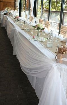 Head Tables & Sweetheart Tables
