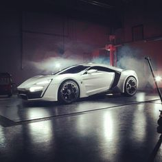 The Arab World's first true supercar, the LykanHypersport. That looks mean
