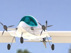 EMG-5 ultralight electric experimental aircraft.