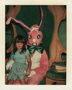 Archive of vintage mall Easter Bunny photos #easter bunny #mall #photos…