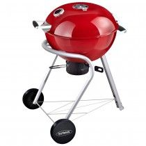 Outback 57cm charcoal kettle BBQ grill in black