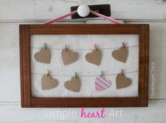 Quick and Easy Crafts Day 5 Valentine's Day Round Up ~ * THE COUNTRY CHIC COTTAGE (DIY, Home Decor, Crafts, Farmhouse)