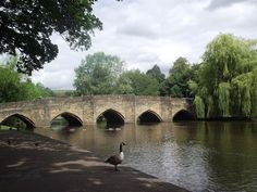 Bakewell in Derbyshire Over The Bridge, Chatsworth House, Peak District, The Beautiful Country, Days Out, Great Britain, United Kingdom, Places To Go, England