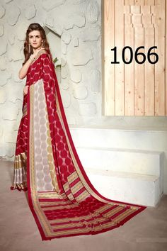 Devotional Red and Beige Printed Saree. Mordenize your party wardrobe with this saree. This saree will keep you comfortable all day long. This saree is quite comfortable to wear and easy to drape as well. This saree comes with matching unstitch Blouse. #saree, #casualsaree, #printedsaree, #wholesalesuppliers, #wholesalesellers http://www.addsharesale.com/