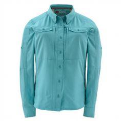 NWT Mens M-L Columbia PFG Force 12 Zero Woven Long Sleeve Button Up Shirt Tippet