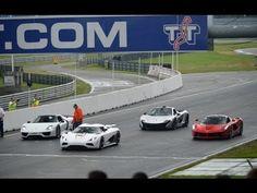 Koenigsegg Agera vs. Ferrari LaFerrari vs. Porsche 918 vs. Mclaren P1 on...