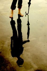 Reflection: Poignancy of a silhouette