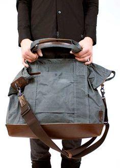 Free Bag Pattern and Tutorial - The Weekender Bag
