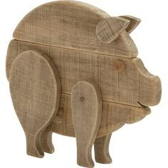 Barnyard Pig Decor