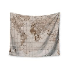 Decorate any wall in your home with an elegant Emerald World tapestry. This wonderful piece is a great way to add color to your bed, ceiling, and, of course, walls. Use this amazing piece of unique ar