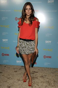 Olivia Palermo | August 2010 | She wore an outfit by Susan Woo to a screening of The Big C in New York
