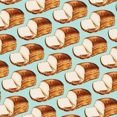 Bread Pattern Leggings by Kelly Gilleran - Medium Pretzel Cheese, Food Patterns, Dog Pattern, Digital Pattern, Surface Design, Muffin, Pattern Leggings, Clip Art, Bread
