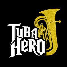 Cool tuba shirt for Luke!