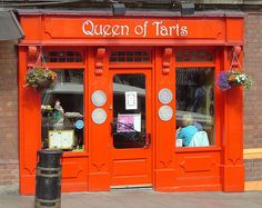 Queen of Tarts, Dublin, Ireland    They have the most delicious raspberry scones... ever.