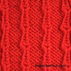 Basic Knitting Stitches Yarn Over : 1000+ images about Knitting Stitches: Yarn Overs on Pinterest Knitting stit...